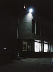 ... (june1777) Tags: street light church night ga 645 fuji snap h 400 seoul pro fujifilm 60mm fujinon f4 ga645 400h pro400h bukchon angukdong