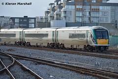 22038 at Heuston, 15/10/15 (hurricanemk1c) Tags: dublin irish train rail railway trains railways irishrail rok rotem heuston 2015 icr iarnród 22000 22038 éireann iarnródéireann premierclass 5pce