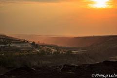 Ein Abend im Tagebau (philipp_lohr) Tags: auto offroad familie patrick papa ausflug jrg umwelt mensch gelnde zerstrung 2015 terraforming tagebaunochten