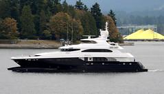 Zenith of George Town (John W Olafson) Tags: vancouver boat yacht catamaran luxury zenith opulence luxuryyacht