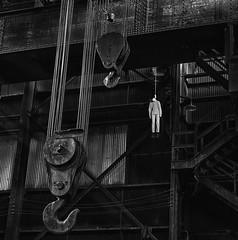 Hanged man (Ted Van Pelt) Tags: suicide hanging noose