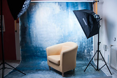 198-366 I finished new backdrop today - getting ready for winter family photoshoots.jpg (Alžběta Pilařová) Tags: home painting studio photoshoot background icon backdrop 365 backstage preparation 198 366