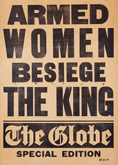 Suffrage in the press: Armed Women Besiege the King21 May 1914
