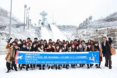 Students from Japan ...