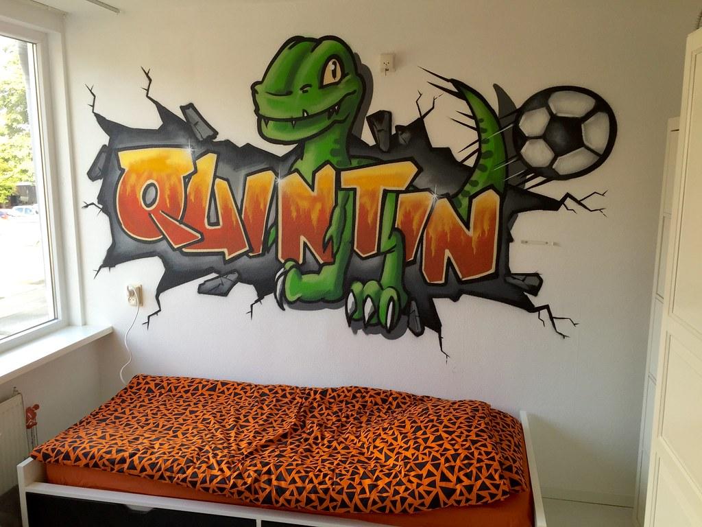 The world 39 s best photos of graffiti and kinderkamer flickr hive mind - Behang tienerkamer ...