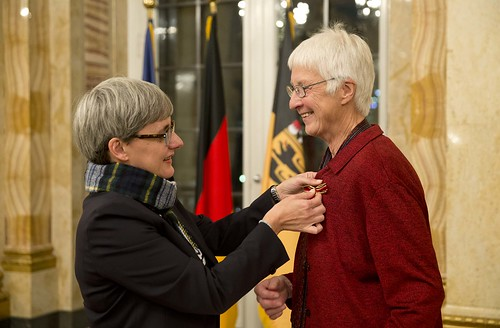 Verdienstkreuz am Bande für Ursula Marx