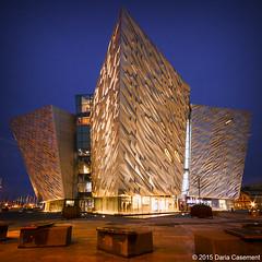 Titanic Quarter, Belfast (dareangel_2000) Tags: nightphotography urban building landscape wideangle belfast northernireland titanic tq queensisland titanicquarter titanichouse dariacasement titanicbuilding tqeventsbelfast foundationtitanic