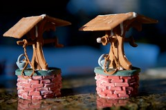 2 Wishing wells are better than one! (ineedathis, the older I get, the more fun I have!) Tags: kitchen miniature baking bucket bokeh rope granite gingerbreadhouse edible countertop modelmaking wishingwell gumpaste sugarwork christmas2015 nikond750