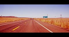 Road Trip... (Harleynik Rides Again.) Tags: arizona usa route66 roadtrip explore harleydavidson 2009 bikers getyourkicks peachsprings harleynikridesagain