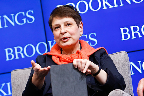 "Nina Khrushcheva speaks at Brookings book launch: ""Putin's Crimean gamble: Russia, Ukraine, and the new Cold War"""