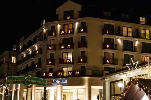 Calendrier de l'avent à Baden-Baden