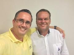 No dia hoje fechamos mais um Pacote de treinamento de Liderança com meu amigo Fabio Pilon. Data: 06/12/2015.