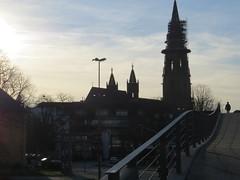 Steg+Mnster - Karlssteg Freiburg (thobern1) Tags: germany freiburg tb mnster badenwrttemberg karlssteg