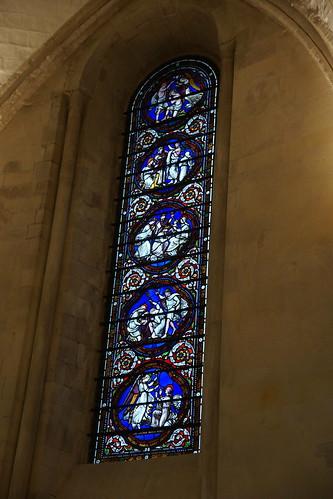 Stainglass Window, Temple Church, Knights Templars, City of London, London (1)