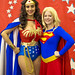 Wonder Woman and Supergirl, Silicon Valley Comic Con, 2016