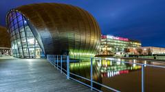 BBC Scotland.jpg (___INFINITY___) Tags: 6d aberdeen bbc bbcscotland clyde glasgow waterfront architect architecture building canon city darrenwright dazza1040 eos infinity longexposure night riverside scotland