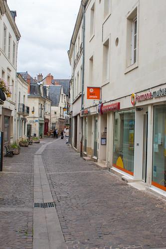 Rue Voltaire à Chinon