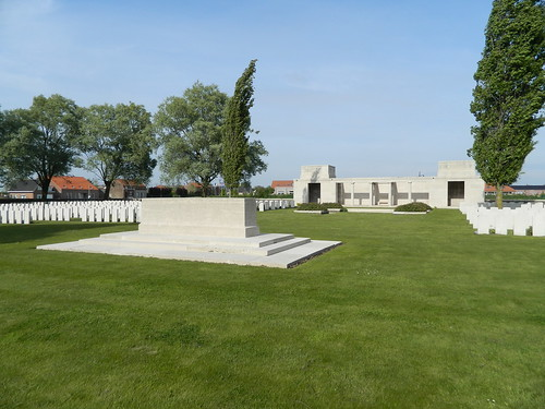 Mesen: CWGC Messines Ridge British Cemetery (West-Vlaanderen)