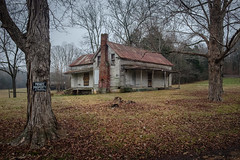 The Other End. (Mr. Pick) Tags: house abandoned farm rural decay tn tennessee tinroof h