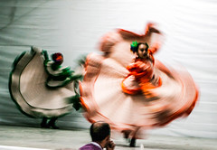 Rotation (Angelo Petrozza) Tags: mexico mexican dancing rotation panning mosso traditional folkloric dance texcoco cimmyt angelopetrozza ciudad