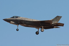 F-35A Lighting II - 61st FS - 12-5056 (AF-67) (Pasley Aviation Photography) Tags: lockheed martin f35 f35a lighting ii 61st fighter squadron fs 125056 af67 lmtas 56 fw wing 56th country jsf joint strike usaf lf stealth plane air force base instagram flickr social media donald trump landing 03l modern warfare government art artistic training pasley aviation photography nikon spotting spotter pilot