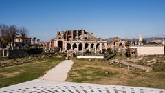 View of the Amphitheatre of Capua (silverfox_hwz) Tags: campania capua santamariacapuavetere amphitheatre anfiteatro ancientcapua gladiator gladiatormuseum