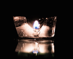 275 Redux - Hot/Cold (Helena Johansson 71) Tags: hotcold redux2016myfavoritethemeoftheyear macromondays macro nikond5500 d5500 nikon project365 ice candle fire indoor fotoarte art