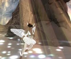 An Angel to watch over you... (ArwennEvenstarUndomiel) Tags: yabusaka petite tinies lumae angel fairy fae guardian amacci laboheme advent christmas holiday