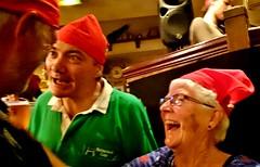 "France, Pyrénées-Atlantiques, Bayonne - Mike Norrington, Martin Hathaway & Geraldine Norrington (Biffo1944) Tags: france pyrénéesatlantiques bayonne ""mike norrington"" ""martin hathaway"" ""geraldine ""katie dalys"" ""irish bar"" sonyz10239"