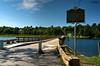 Sunset Lake Floating Bridge (le Brooklands) Tags: brookfield d7000 floatingbridge hdr route65 sigma1224mm sunsetlake vermont