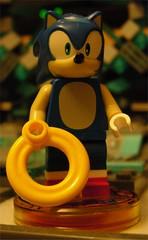 Lego Dimensions Sonic the Hedgehog (Doc Nero) Tags: lego dimensions dc movie sonic hedgehog midway ninjago doctor who arcade spy hunter joker batman tardis dalek