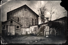 Live Bait (drei88) Tags: darkworld forlorn creepy haunted bleak desperate grim stark grave lonely gritty dreary alone desolate cold winter clouds wary tintype charged life death discovery faded neglect neglected weathered disturbuing