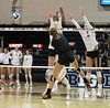 Rock around the block (RPahre) Tags: huff volleyball huffhall liztwilley champaign illinois universityofillinois universityofmaryland swing block