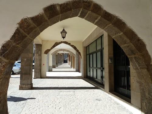 Medieval market arcades at Seguntum_Sagunto  (once
