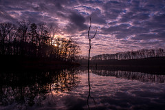 Sunrise (Jon Ariel) Tags: hall county georgia north ga lake sunrise reflection