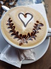 Guatemalan Cappuccino (Arthur Chapman) Tags: coffee cappuchino tequieroteahouse panajachel lakeatitlán sololá guatemala geocode:accuracy=100meters geocode:method=gps geo:country=guatemala