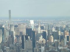 Aerial View, Snow View, 432 Park Avenue Skyscraper, Midtown Manhattan, One World Observatory, World Trade Center Observation Deck, New York City (lensepix) Tags: aerialview snowview oneworldobservatory worldtradecenterobservationdeck newyorkcity observationdeck