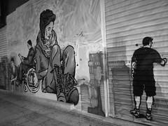 Street art Same84 (iliasphotography) Tags: street art streetart graffity urban blackandwhite monochrome hiphop