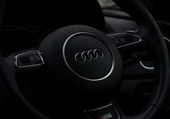 Audi (Laineyb93) Tags: lowlight audi q3 steeringwheel circles bliss beauty nikon nikond7000 quattro black silver automobile german craftsmanship suv vorsprungdurchtechnik