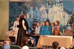 43. Sketch of Bogorodichnoe Village at the Assembly Hall / Сценка с.Богородичное в актовом зале 08.01.2017