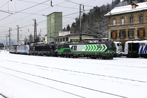 ELL 193 208-6 Lokomotion Lokzug, Kufstein