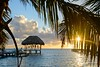 Good Morning Caye Caulker (jennifer.stahn) Tags: travel belize caye caulker beach morning sunrise palmtree hammock nikon jennifer stahn reise karibik caribbean happiness