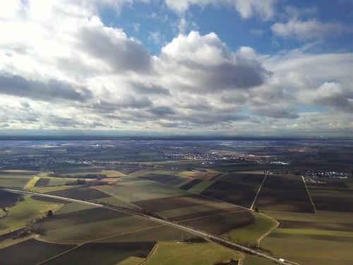 Clouds above Munich