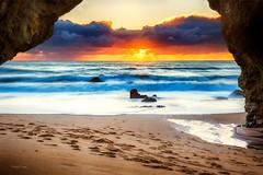 Panther beach sunset (Alex T Sam) Tags: panther beach santacruz landscapesunsetcanon photography