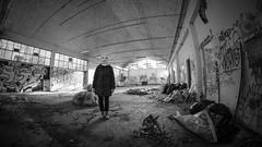Thestranger2017-9_1920_1082 (BenSG) Tags: fujixt10 thestranger humour horror verona bn blackandwhite ruins