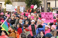 WomensMarchOlympia2016-6190LR (Madeline McIntire Houston) Tags: clothing colorphotograph colorful crowd crowded crowding demonstrating demonstration event events face group hat olympia people pink protestsign pussyhat sign thurstoncounty washingtonstate washingtonstatecapitolcampus winter womensmarch protest