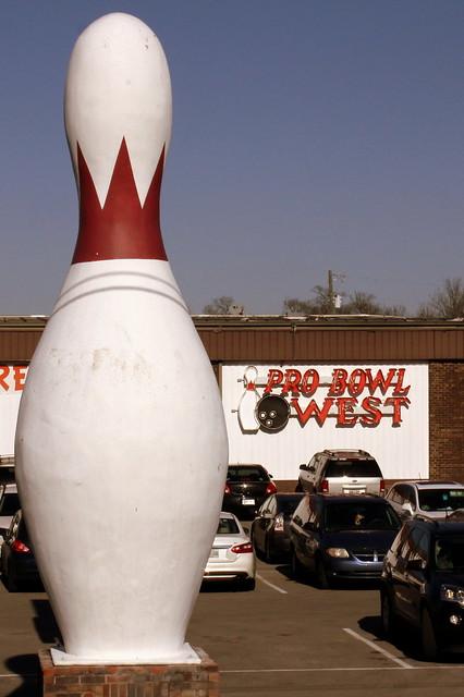 Large Bowling Pin - Lebanon, TN