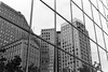 Urban reflection (Detroit Imagery) Tags: trix400 nikonfe2 35mmfilm