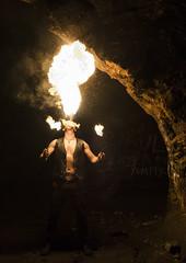 Fire at Beech Caves