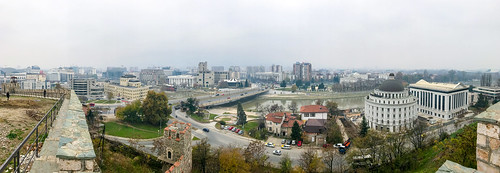 View From Skopje Fortress - Macedonia